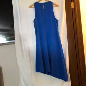 Banana Republic Dresses - Banana Republic - Royal Blue Silk ALine Dress - 14
